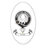 Badge - Leask Sticker (Oval 10 pk)