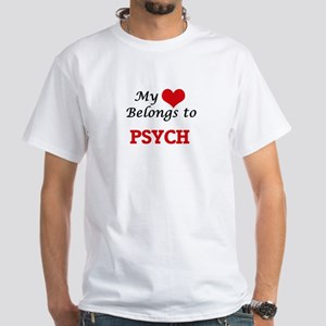 My heart belongs to Psych T-Shirt