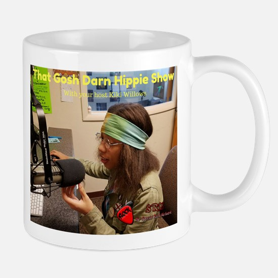 11 Oz That Gosh Darn Hippie Show Ceramic Mug Mugs