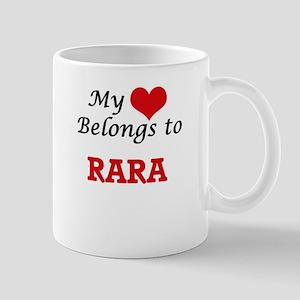 My heart belongs to Rara Mugs