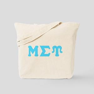 Mu Sigma Upsilon Sorority Letters and Symbol Tote