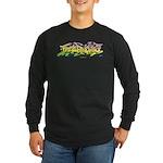 Free Radicals Graff by Zesh Long Sleeve T-Shirt