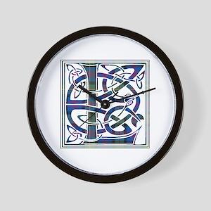 Monogram - Logan Wall Clock
