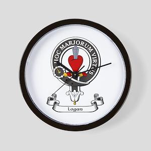 Badge - Logan Wall Clock