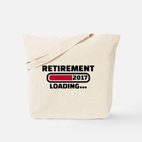 Retirement 2017 Tote Bag