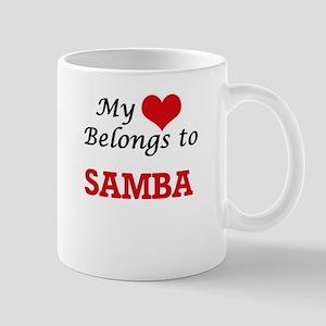 My heart belongs to Samba Mugs