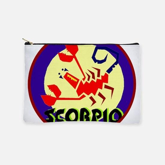 Scorpio Badge Makeup Bag