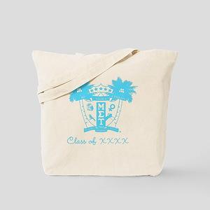 Mu Sigma Upsilon Sorority Crest in Blue P Tote Bag