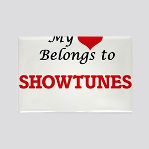 My heart belongs to Showtunes Magnets