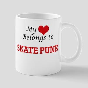 My heart belongs to Skate Punk Mugs