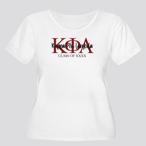 Kappa Phi Lam Women's Plus Size Scoop Neck T-Shirt
