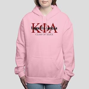 Kappa Phi Lambda Black R Women's Hooded Sweatshirt