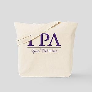 Gamma Rho Lambda Letters Personalized Tote Bag