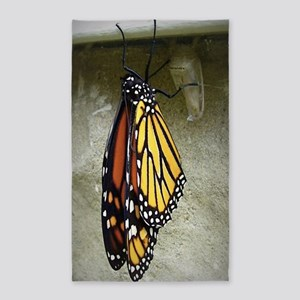Monarch Butterfly Area Rug