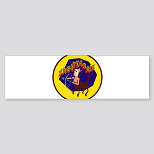 Sagittarius Badge Bumper Sticker