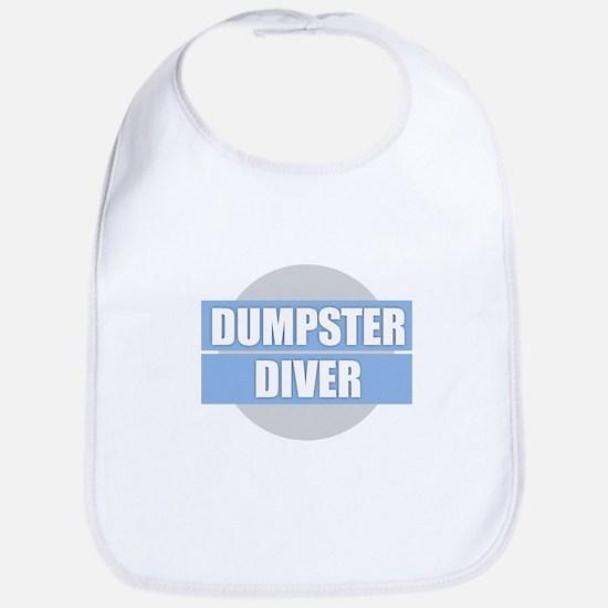 DUMPSTER DIVER Baby Bib