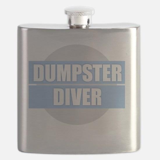 DUMPSTER DIVER Flask