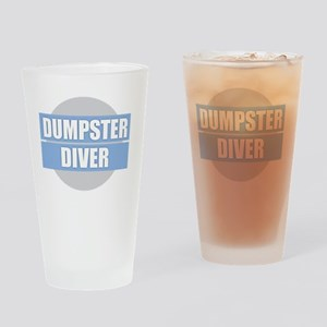 DUMPSTER DIVER Drinking Glass