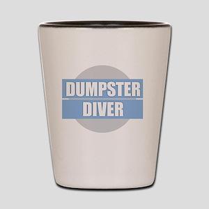 DUMPSTER DIVER Shot Glass