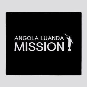 Angola, Luanda Mission (Moroni) Throw Blanket