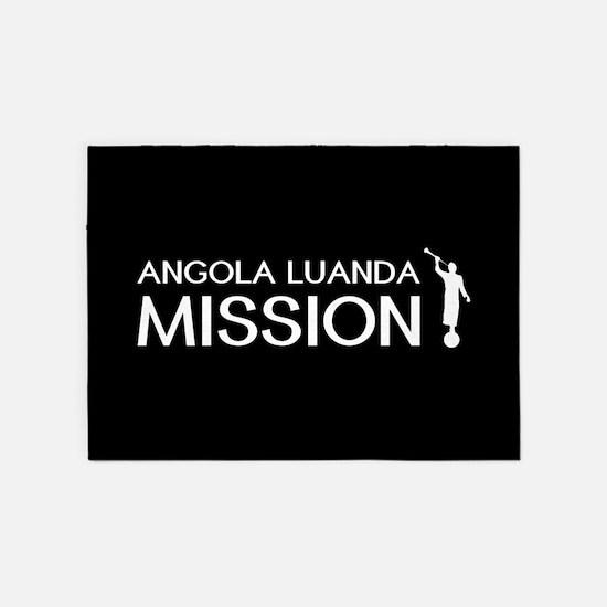 Angola, Luanda Mission (Moroni) 5'x7'Area Rug