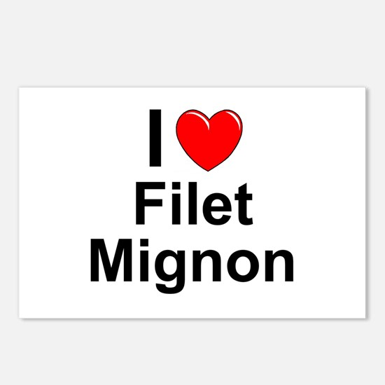 Filet Mignon Postcards (Package of 8)