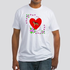 German Shepard Love Fitted T-Shirt