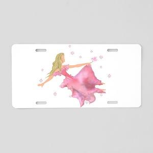Princess Dreams: Birds (1) Aluminum License Plate