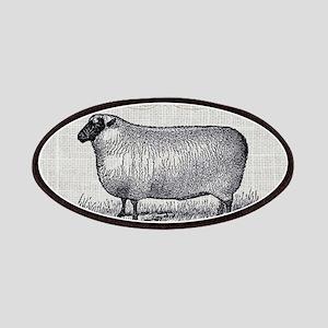farm animal sheep farmhouse Patch