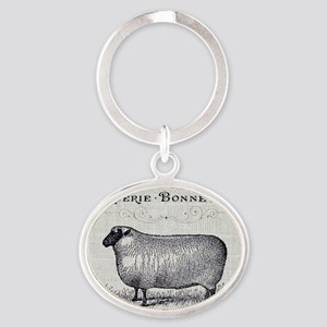 farm animal sheep farmhouse Keychains
