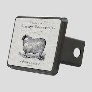 farm animal sheep farmhous Rectangular Hitch Cover