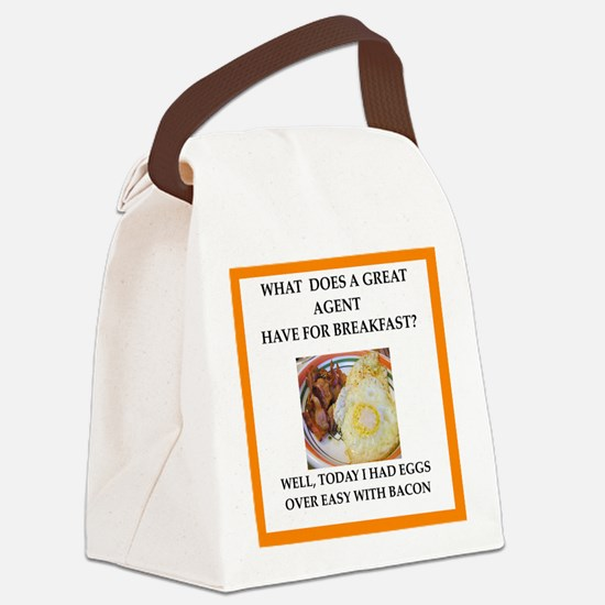 Profession joke Canvas Lunch Bag