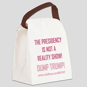 DUMP TRUMP! Canvas Lunch Bag