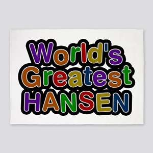 World's Greatest Hansen 5'x7' Area Rug