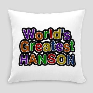 World's Greatest Hanson Everyday Pillow