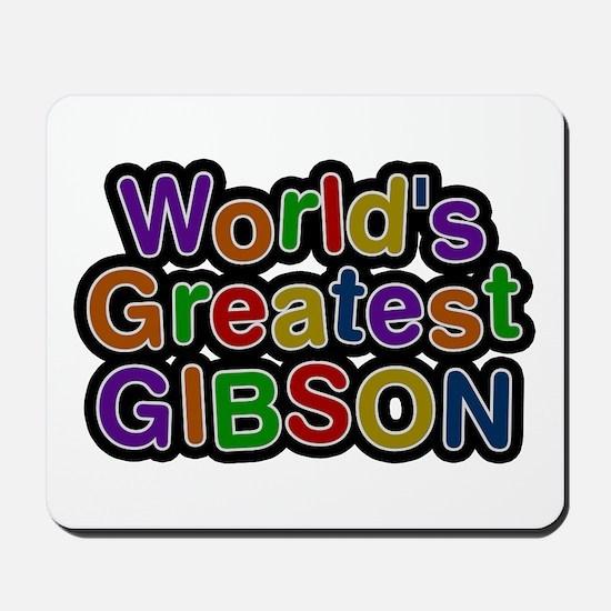 World's Greatest Gibson Mousepad