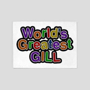 World's Greatest Gill 5'x7' Area Rug