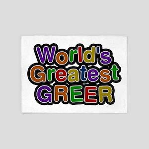 World's Greatest Greer 5'x7' Area Rug