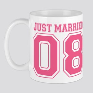 Just Married 08 (Pink) Mug