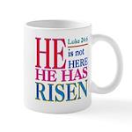 Luke 24:6 Mugs