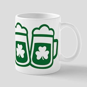 Green irish beer Mugs