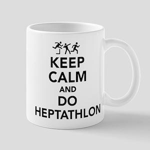 Keep calm and do Heptathlon Mugs