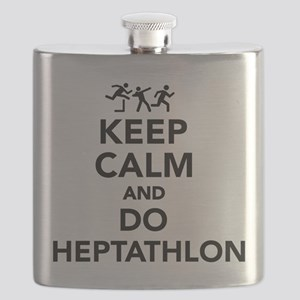 Keep calm and do Heptathlon Flask