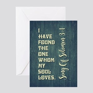 SONG OF SOLOMON Greeting Cards