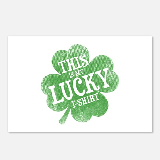 Lucky Shamrock Postcards (Package of 8)