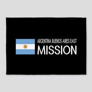 Argentina, Buenos Aires East Missio 5'x7'Area Rug
