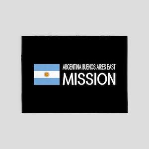 Argentina, Buenos Aires East Missio 5'x7'Area Rug