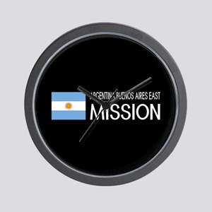 Argentina, Buenos Aires East Mission (F Wall Clock