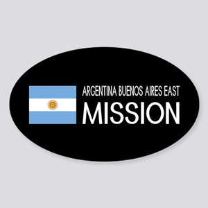 Argentina, Buenos Aires East Missio Sticker (Oval)