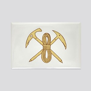 Mountain Climbing Pick Axe Rope Crossed Drawing Ma